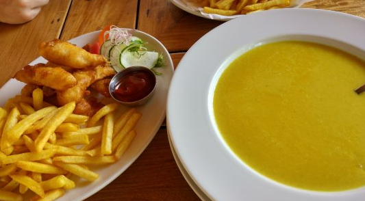 Fries and Soup